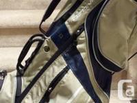 BAGS    &&&& NEW RIKSHA $125 ADAMS black/silver new