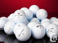 THESE GOLF BALLS ARE ALL IN GREAT SHAPE - WHITE GOLF