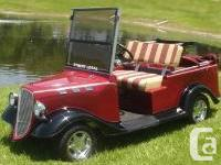 BE THE FIRST ONE IN LINE TO GET YOUR GOLF CART