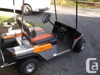 Golf Cart Gas powered E-Z-Go. Older model that has been