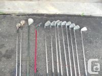 Prima Pro Midi irons complete from 3-9 and SW PW is a