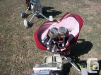I have for sale several sets of golf clubs, bags and for sale  Saskatchewan