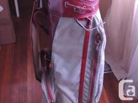Dunlop 10 piece beginners golf clubs with bag. 1,3,5