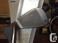 Precision II XPS Irons 3, 4, 5, 6, 7. 8, P, S Golf Bag