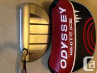 Odyssey White Ice 5 Putter (BRAND NEW), never used,