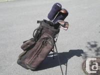 Golf  Set Men's Complete LEFT Handed  With Bag/Stand