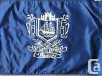 """5 Varied Golf Tee Flags. They average 14"""" x 20""""."""