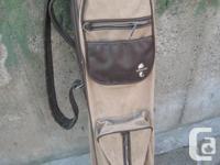 This retro Atlantic golf bag is in reasonable problem,
