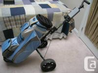 Marketing Golf bag as well as Cart for $40.  Golf bag