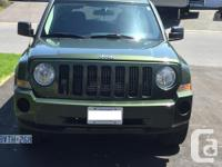 Make Jeep Model Patriot Year 2008 Colour Green kms
