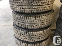 For sale good Condition Set 4 Winter Tires and steel