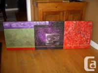 Marketing a big original painting. Multi-colour