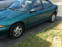 Make Chevrolet Model Cavalier Year 1999 Colour teal
