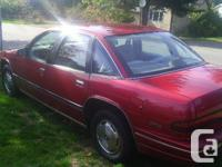 Make Buick Model Regal Year 1992 Colour red Trans