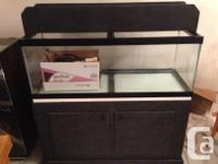 For sale in great clean disorder 65 Gal Fish tank Tank