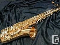 Selmer Tone saxophone, student model. Fantastic