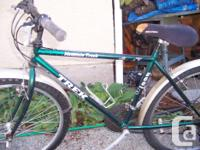 This bike is older but almost never used. Orignal tires