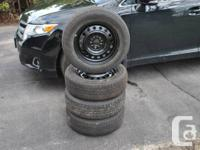 Rims are brand new and never used! Tires are in great