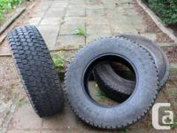We recently upgraded our tires from 4ply to 10ply due