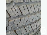 Good set of Goodyear wrangler SR-A 275 / 60 / r20 with