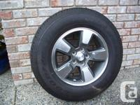FOR SALE Goodyear Wrangler ST tire mounted on 2008-12