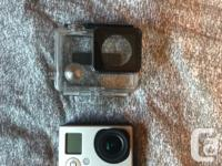 GoPro hero 3 with GoPro case and one mount. Comes with