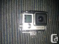 GoPro Hero 4 Silver standard edition New purchased on