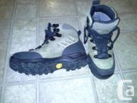 Montrail Gore-tex completely waterproof treking boots.