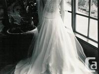 Exquisite, special order Reem Acra bridal gown!   Reem