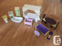 Lovingly cared for Savannah dollhouse, complete with
