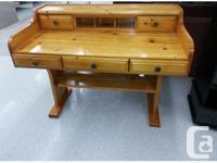 VINTAGE PINE WRITING DESK This BEAUTIFUL Secretary is