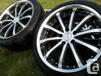 Works Virianza V5S rims on Nitto 225 40 ZR 18's  85%