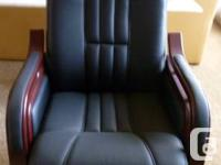 Dynasty Exec Company Chair. NEW! Chair is higher end,