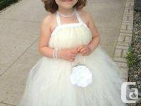 GOWN for sale - $120.00 company. My child wore this