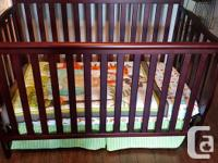 Paid $600, selling for $275 or best offer. Graco crib 3