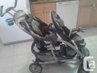 Hello   I have a graco double stroller for sale in