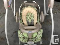 Monkey Business' Collection 6-speed swing for infants