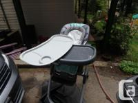 EUC high chair, used for 6 months with one child. Has
