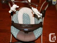 Graco swing with music  Terrific problem -