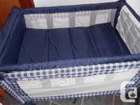 This Pack and Play portable crib is a great for travel
