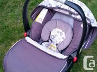 Original owner selling the Graco car seat, base and