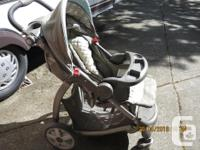 New Price - $450.00. Wonderful stroller with integrated