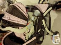 $50 for three items-car seat with base and the