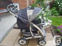 Graco Stroller. Accommodates Graco Baby Carrier $30.00