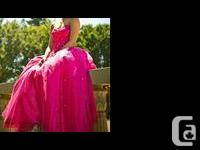 Beautiful Mori Lee Prom Dress for sale. A full princess