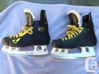 These are Graf Supra Top Light 703, size 6 1/2 (six and