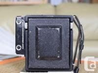 This medium or 60mm X 90mm film size view camera is in