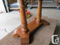 THIS END TABLE WAS MADE BY KROEHLER FURNITURE. IT IS 26