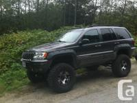 2002 jeep grand Cherokee overland model 4.7 l ho 167 km