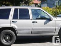 Make. Jeep. Model. Grand Cherokee. Year. 1998. Colour.
